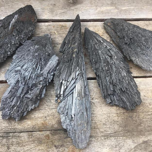 Stones from Uruguay - Black Kyanite Blade for Gift & Home